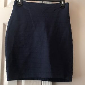 EUC Express navy pencil skirt